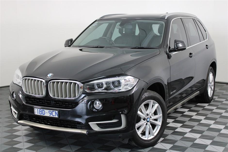 2014 BMW X5 sDrive 25d F15 Turbo Diesel Automatic - 8 Speed Wagon