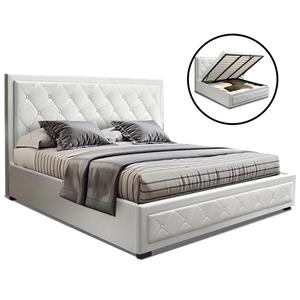 Artiss TIYO King Size Gas Lift Bed Frame