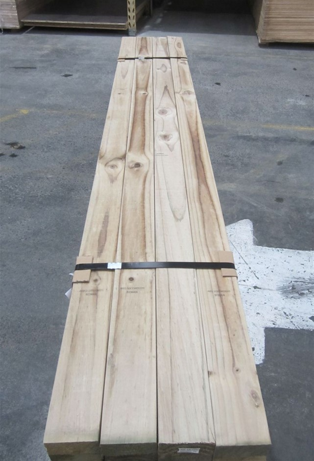 Pack Of 20 Lengths Of 90mm x 45mm H3 Treated Pine