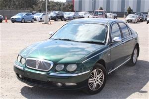 2001 Rover 75 Connoisseur Automatic Seda
