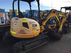 2012 JCB 8030ZTS 3.2T Diesel Excavator (