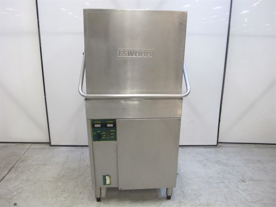 Eswood Pass Through Dishwasher ES50 With Dishwasher Trays Dimensions: 730w