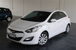 2013 Hyundai i30 Active GD Automatic Hat