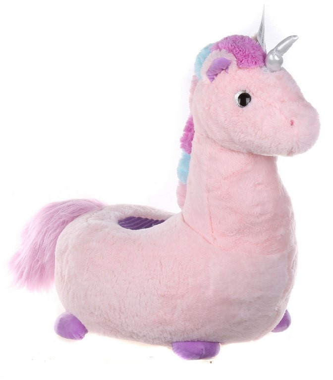 Unicorn Children`s Seat- Pink. (SN:CC42485) (266643-30)