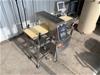 1995 Ishida Check Weigh/Metal Detector Digital Automatic Checking System