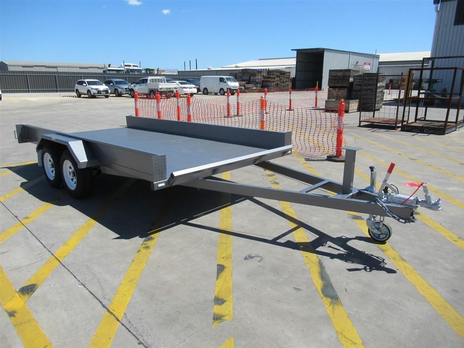 2019 Basic Trailers 14ft Tandem Car Carrier Trailer (Pooraka, SA)