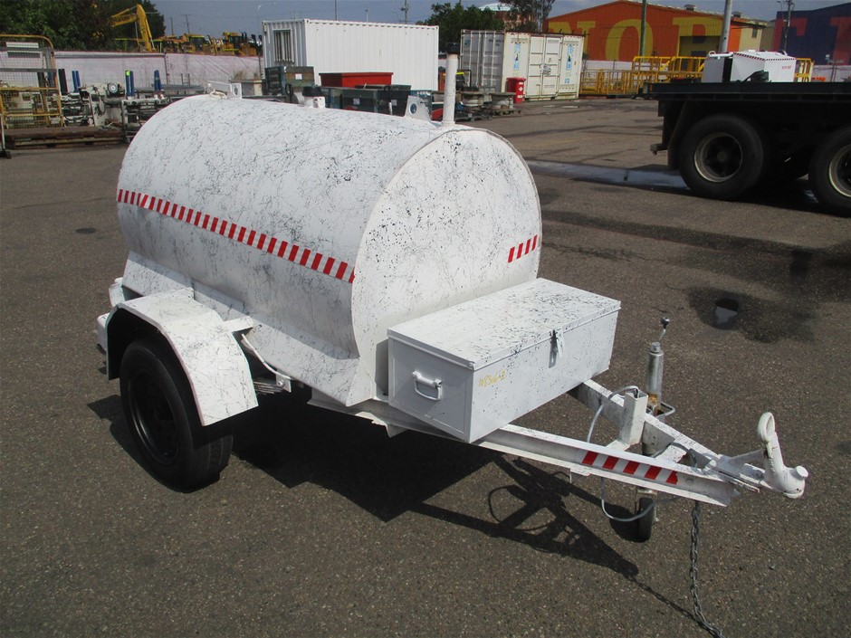 2013 Hocus Fabrication 1000 FP Single Fuel Cell Trailer Trailer