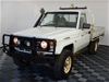 2003 Toyota Landcruiser (4x4) Manual Cab Chassis