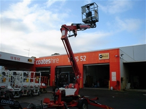 10.2m Trailer Mounted Boom - 2009 Nifty