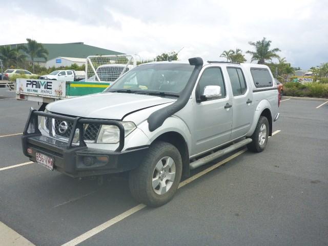 2008 Nissan Navara D40 4WD Automatic Dual Cab Ute