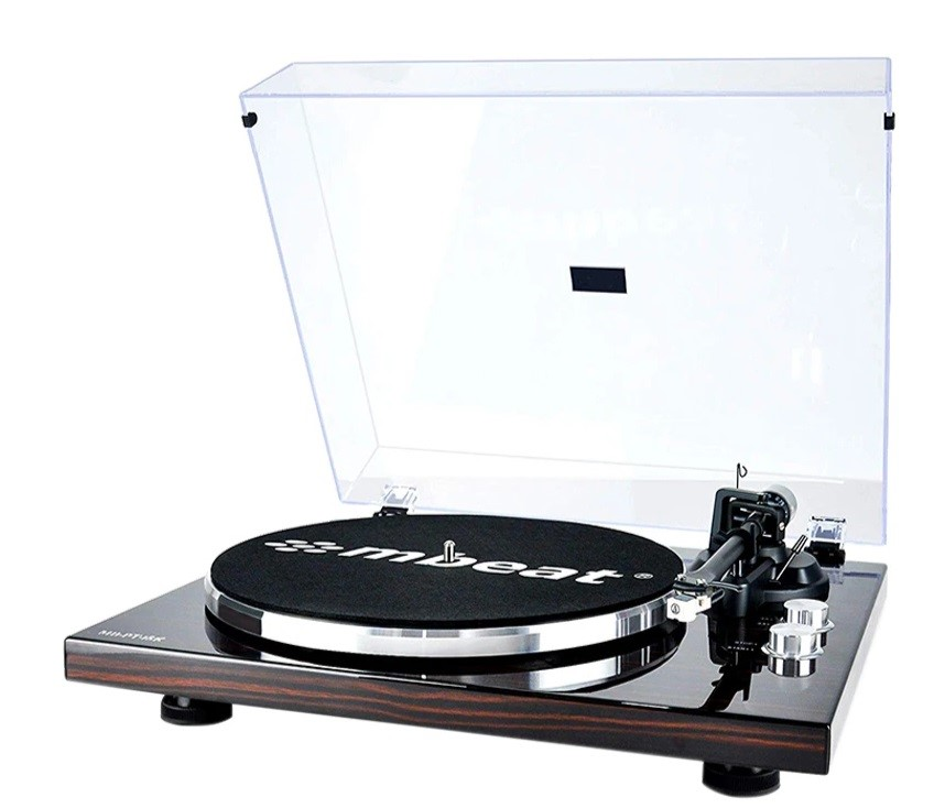 PT-18K Bluetooth Turntable Player (MMC, USB, Anti-skating, Preamplifier)