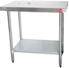 As New Stainless Steel Kitchen Preparation Bench