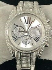Stunning unworn Michael Kors Couture NY 'Bradshaw' pave watch.