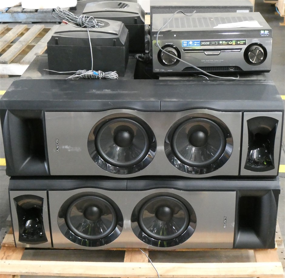 Pallet of Sony HTM77 Muteki 7.2 Home Theatre System