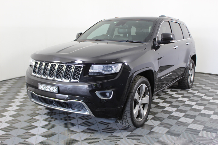 2013 Jeep Grand Cherokee OVERLAND WK Turbo Diesel Automatic - 8 Speed Wagon
