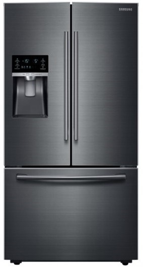 Samsung SRF665CDBLS 665L French Door Fridge (Black/Steel)