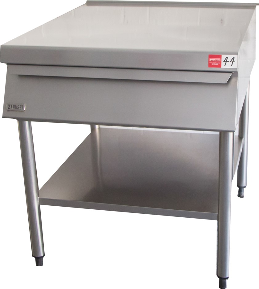 Zanussi S/S Kitchen Preparation Bench with undershelf and Slide out drawer