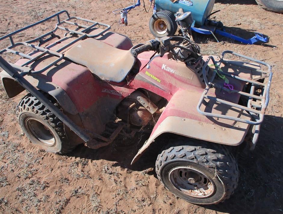 Kawasaki 2WD Quad