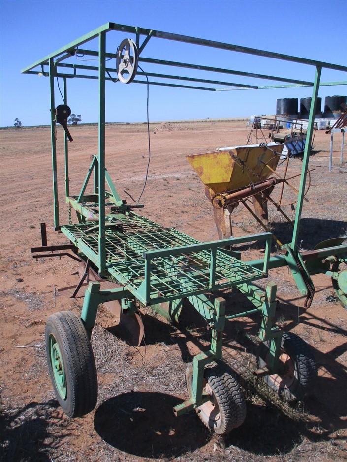 Asparagas Planting Machine