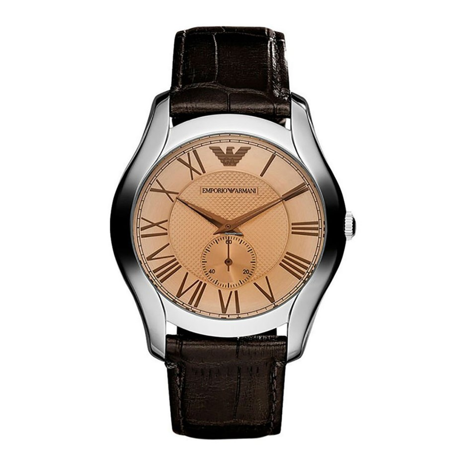 Timeless new Emporio Armani stainless steel men's watch.