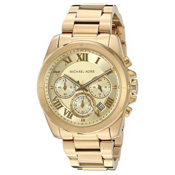 Sophisticated new Michael Kors Brecken chronograph unisex watch