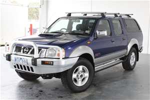 2008 Nissan Navara ST-R (4x4) D22 Turbo