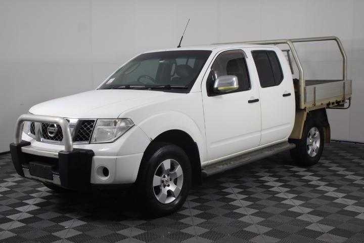 2008 Nissan Navara ST-X D40 4x4 T/Diesel Dual Cab Ute