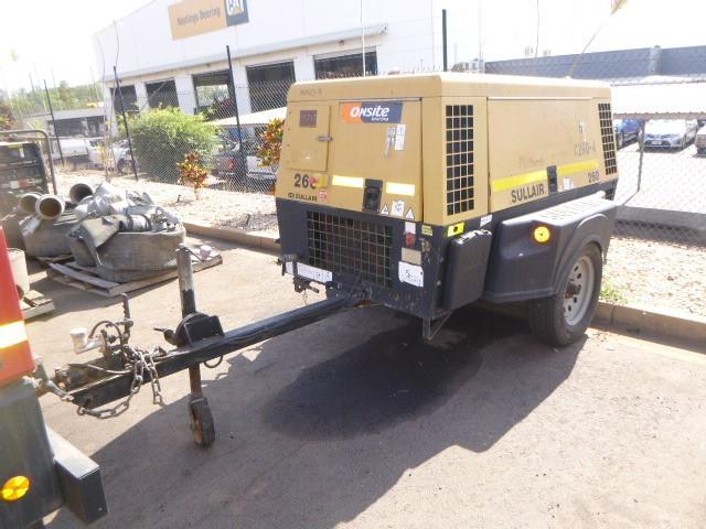 2010 Sullair 260DPQCA3 260CFM Diesel Air Compressor