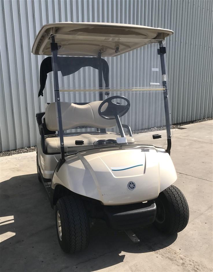 2014 Yamaha G29 Drive 48V Electric Golf Cart (JW9506258) TROJAN Bat