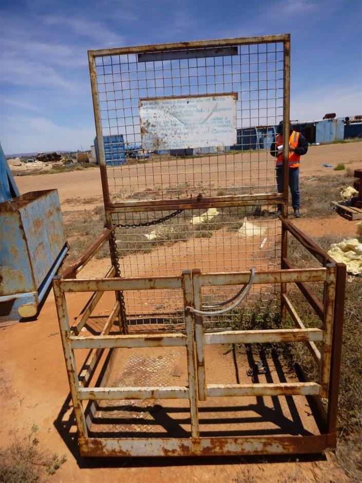 2 Person Main Lifting Cage 250 Kg Lift Capacity