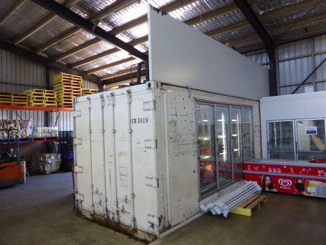 20 Foot Container Freezer (Elizabeth South, SA)