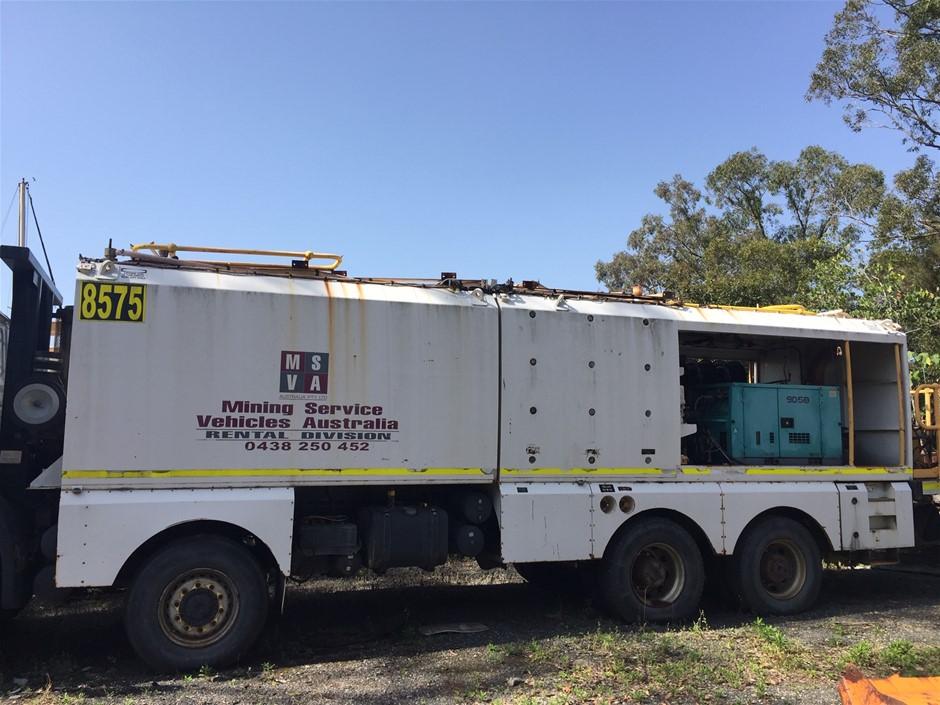 Complete Service Truck Body Module (6 x 1335L Tanks) & Fuel Tank (14,600L)