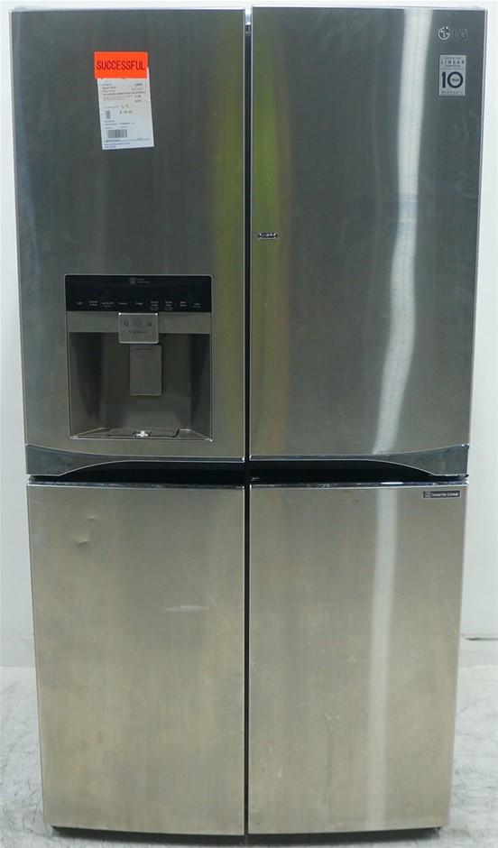 LG GF-5D906SL 906L French Door Fridge
