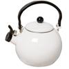 2.0 Litre 18/10 Stainless Steel Enamelled Porcelain Kettle Kitchen White