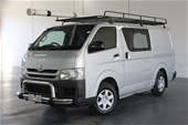 2009 Toyota Hiace LWB TRH201R Manual Van