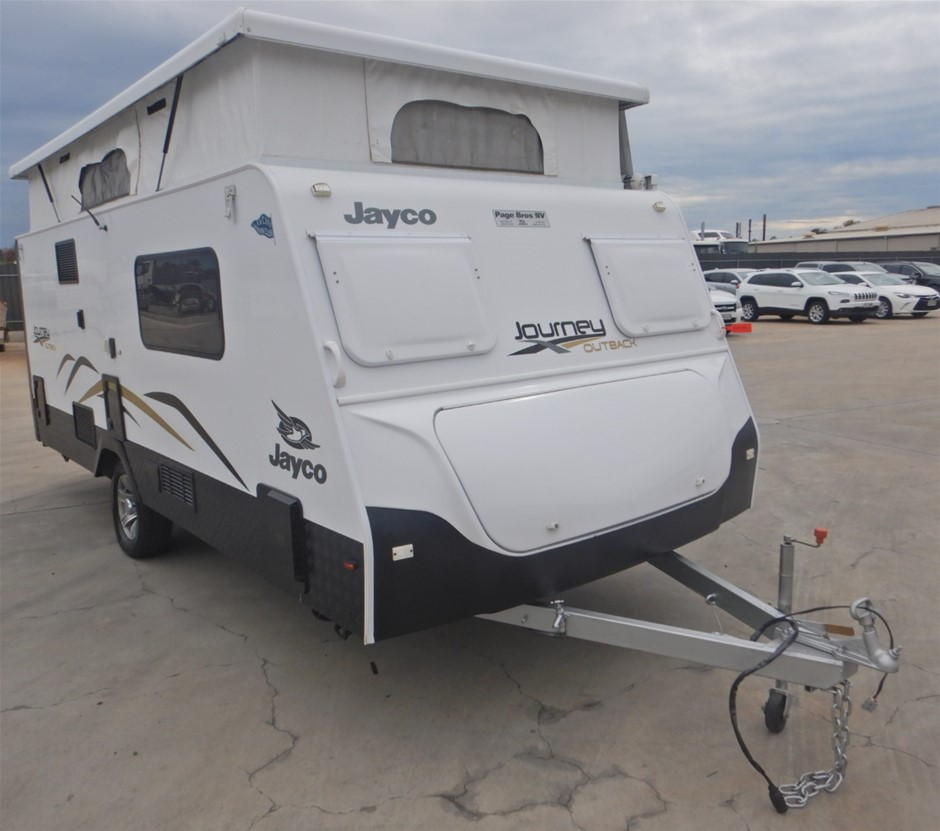 2014 Jayco Journey Outback 17ft Pop Top Caravan (Pooraka, SA)