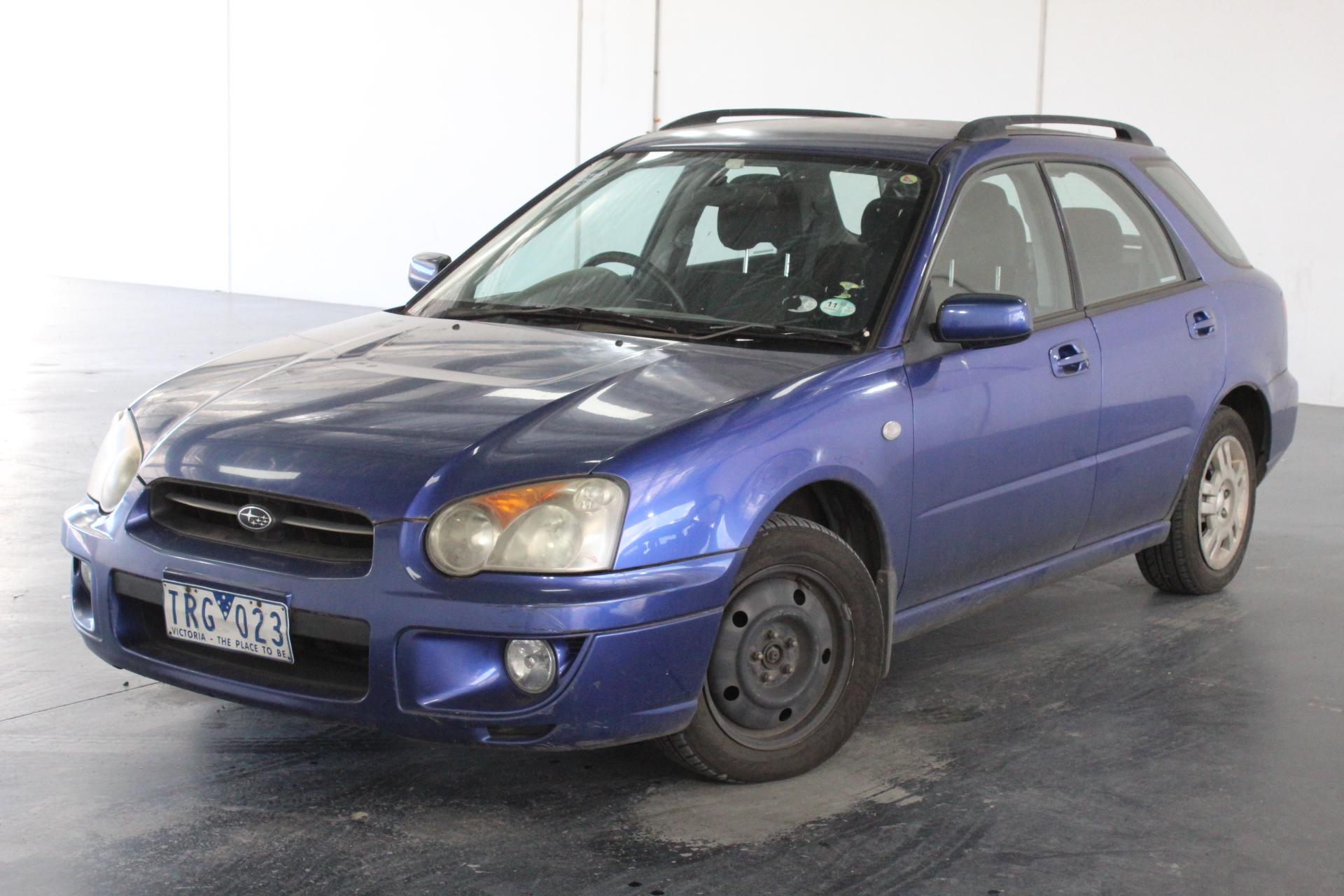 2004 Subaru Impreza GX (AWD) G2 Manual Hatchback