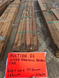 Mixed Hardwood Miscellaneous Timber - 80