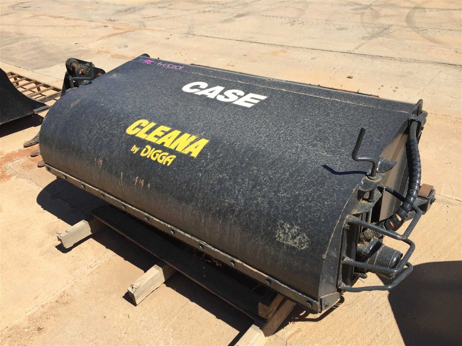 Case Cleana By: Digga Broom Attachment to Suit Skid Steer
