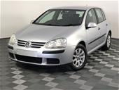 Unreserved 2007 Volkswagen Golf 1.9 TDI Comfortline