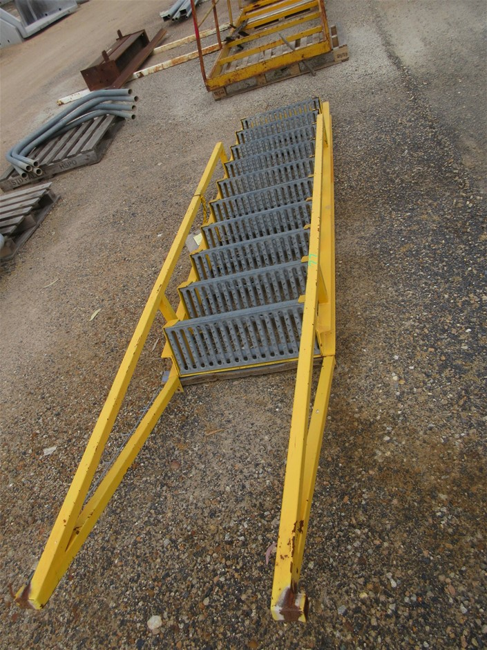 10 Step Water Tank Ladder