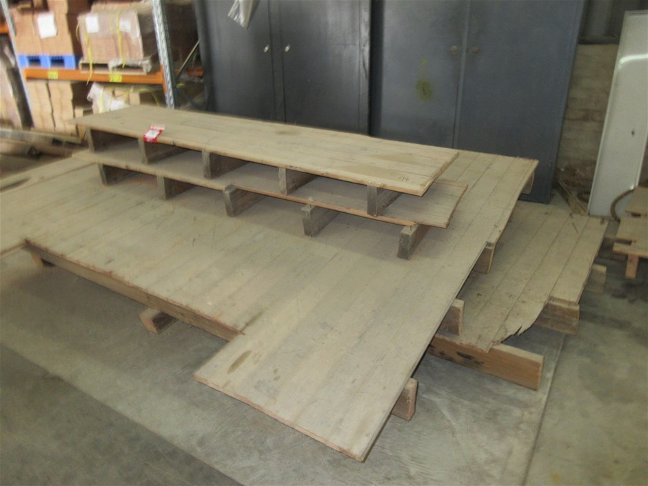 Timber Floor Section x4