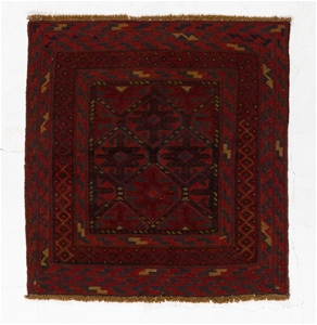 Afghan Meshwani Mixed Weave Hand Knotted
