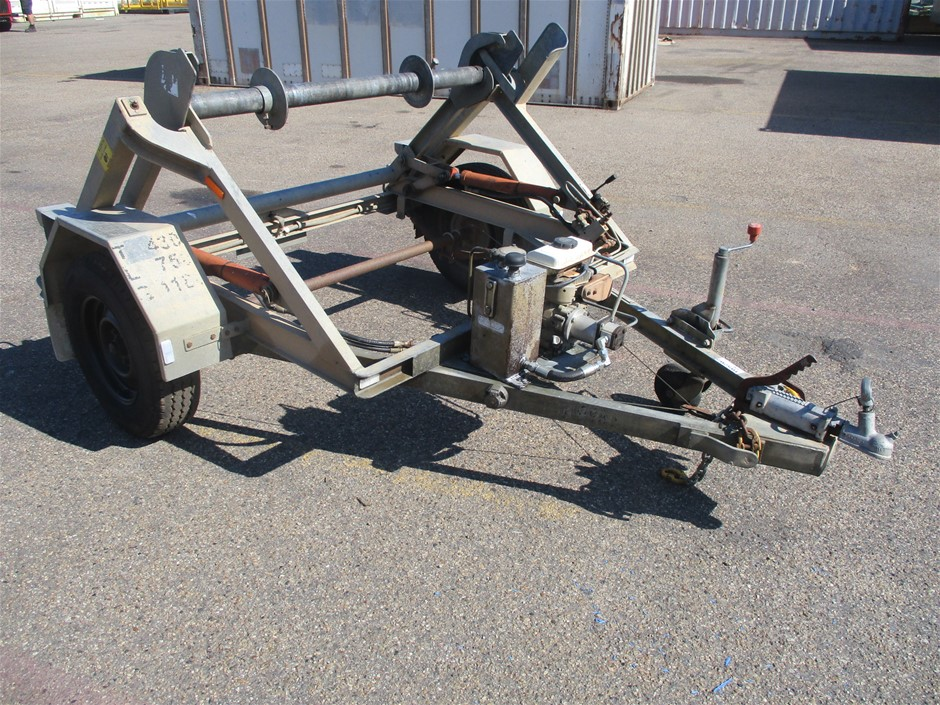 1997 Rodgers and Sons Pty Ltd Single Cable Roll Trailer