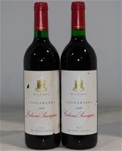 Mildara `Coonawarra` Cabernet Sauvignon 1998 (2x 750mL) Coonawarra, SA