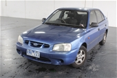 Unreserved 2001 Hyundai Accent GL LS Automatic Hatchback