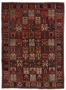 Persian Baktiari Hand Knotted 100% Wool