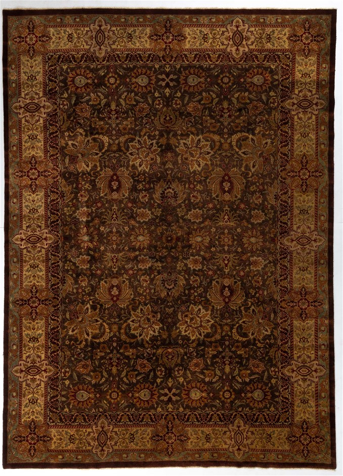 Indian New York Style Fine Hand Knotted 100% Wool pile Size (cm): 300 x 400