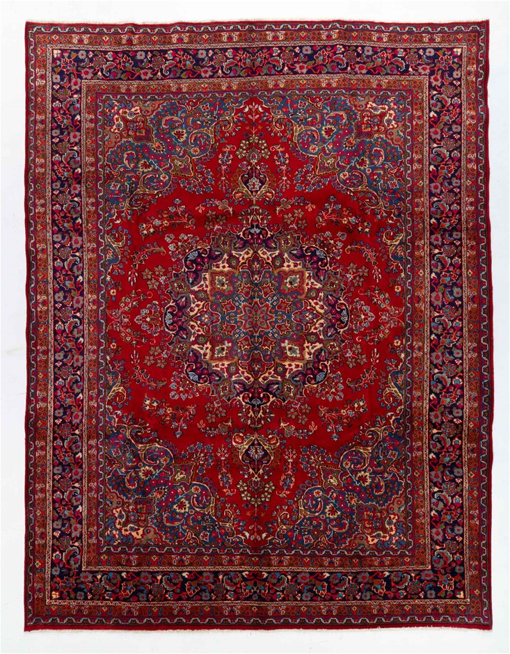 Persian Khorashan Hand knotted 100% Wool Pile Size (cm): 300 x 390