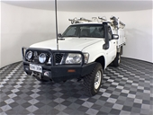 2011 (COMP) Nissan Patrol DX (4x4) GU Turbo Diesel Man